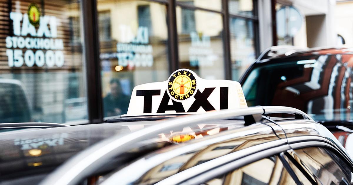 taxi stockholm förare